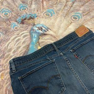 Levi's 712 Slim Denim Jeans